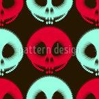 Geisterbahn Nahtloses Vektor Muster