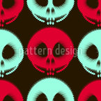 Tunnel Of Horror Seamless Vector Pattern Design