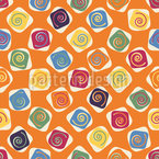 Sixties are coming back Seamless Vector Pattern Design