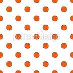 Orangen Nahtloses Vektormuster