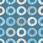 Cool Doughnuts Seamless Vector Pattern