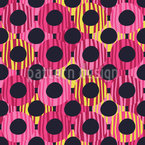 Groovy Circles Vector Pattern