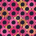 Groovy Kreise Vektor Muster