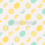 Sour makes you happy Seamless Vector Pattern Design