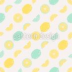 Sour faz você feliz Design de padrão vetorial sem costura