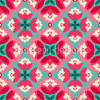 Vintage Deko Blüten Vektor Design