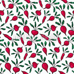 Beetroots Repeat Pattern
