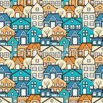 Town Houses Pattern Design