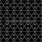 Zwei Dreiecke In Einer Form Nahtloses Vektormuster