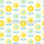 Flowers Paper Cut Pattern Design