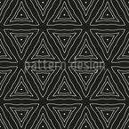 Timeless Triangles Vector Ornament