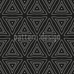 Zeitlose Dreiecke Vektor Ornament