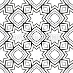 Shapes In Repeat Seamless Vector Pattern Design