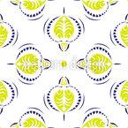 Scharfe Blumen Nahtloses Vektor Muster