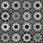 Diferentes octógonos Design de padrão vetorial sem costura