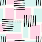 Abstract Rectangles Seamless Vector Pattern Design