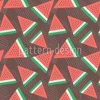 Flache Wassermelone Rapport