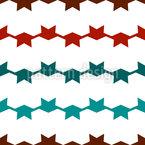 クールで角張り シームレスなベクトルパターン設計