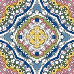 Um mar de flores Design de padrão vetorial sem costura
