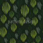 Blätter Aus Linien Musterdesign