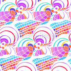 Eighties Explosion Seamless Vector Pattern Design