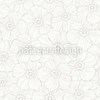 Creased Flowers Pattern Design