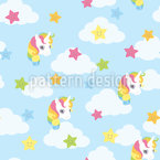 Unicorn And Stars Repeat