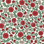 Rankende Blüten Musterdesign