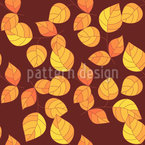 Botanical Fall Vector Pattern