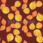 Botanischer Herbst Vektor Muster