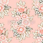 Lovely Flower Arrangement Repeating Pattern