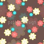 Blumenkekse Vektor Muster