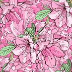 Primavera perfumada Design de padrão vetorial sem costura