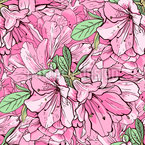 Fragrantly Spring Seamless Vector Pattern Design