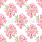 Fragrantly Bouquet Seamless Pattern