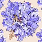 Fragrant Flower Balls Vector Ornament