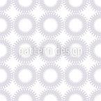 Luminous Sun Seamless Vector Pattern Design