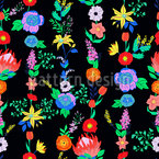 Expressive Bordura Seamless Vector Pattern Design