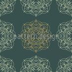Mandala Luz Design de padrão vetorial sem costura