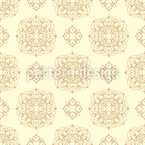 Bright Mandala Seamless Vector Pattern Design