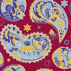 Blumen-Galaxy Musterdesign