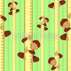 Little Monkeys Seamless Vector Pattern Design
