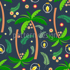 Jungle Thoughts Seamless Vector Pattern Design