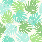 Monstera Energy Pattern Design