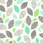 Textured Leaves Pattern Design