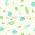 Fresh Summer Feelings Seamless Vector Pattern Design