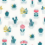 Cactus Home Repeat Pattern