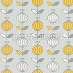 Lampignons Oder Frühlingsknospen Vektor Design