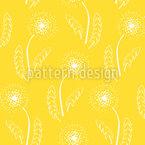 Skinny Dandelion Repeating Pattern