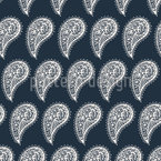 Natura Swirl Paisley disegni vettoriali senza cuciture